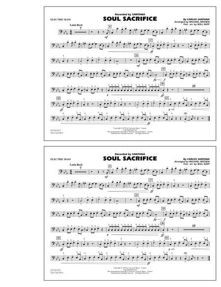 Soul Sacrifice - Electric Bass