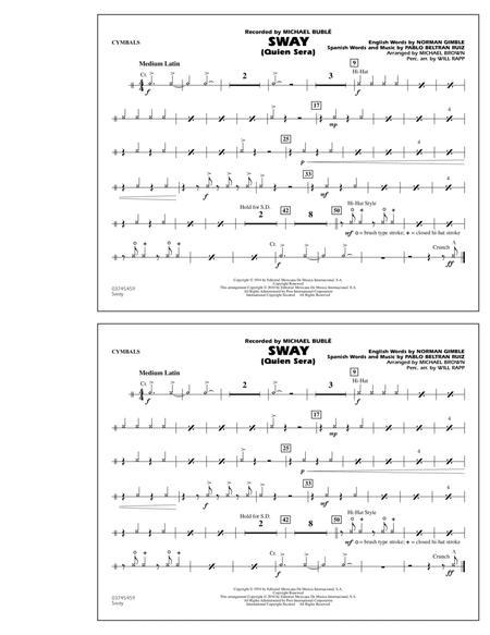 Sway (Quien Sera) - Cymbals
