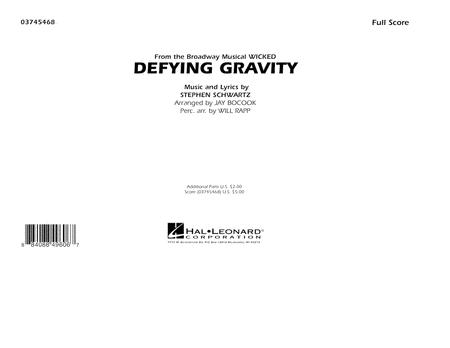 Defying Gravity (from Wicked) - Full Score
