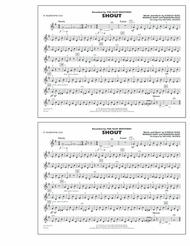 Shout - Eb Baritone Sax