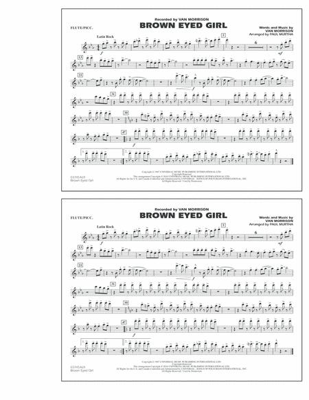 Brown Eyed Girl - Flute/Piccolo