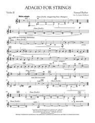 Adagio For Strings - Violin 2