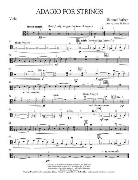 Adagio For Strings - Viola