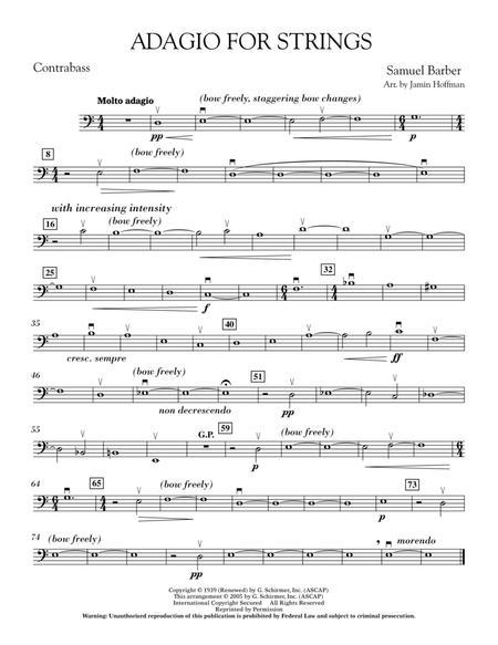 Adagio For Strings - Bass