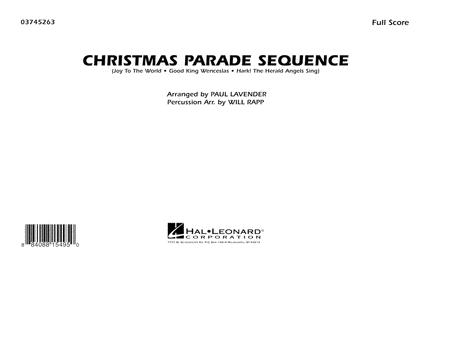 Christmas Parade Sequence - Conductor Score (Full Score)
