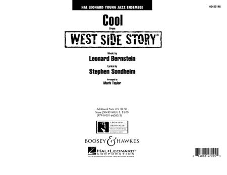 Cool (from West Side Story) - Full Score