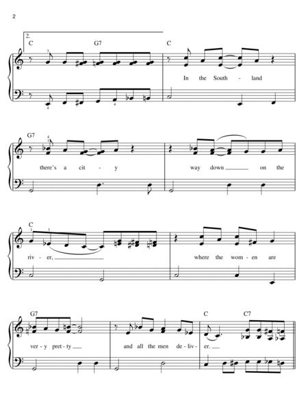 Buy Down in New Orleans Sheet Music by Anika Noni Rose