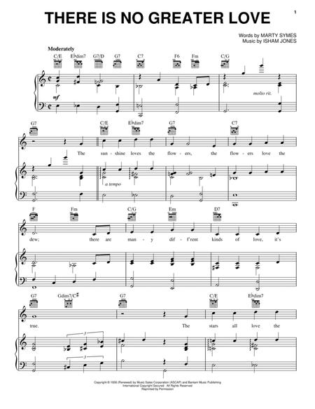 Download There Is No Greater Love Sheet Music By Isham Jones Sheet