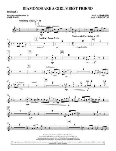 Diamonds Are A Girl's Best Friend - Trumpet 1