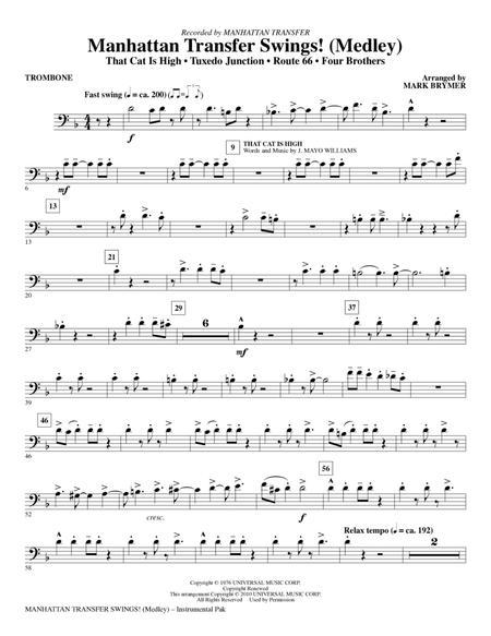 Manhattan Transfer Swings! (Medley) - Trombone