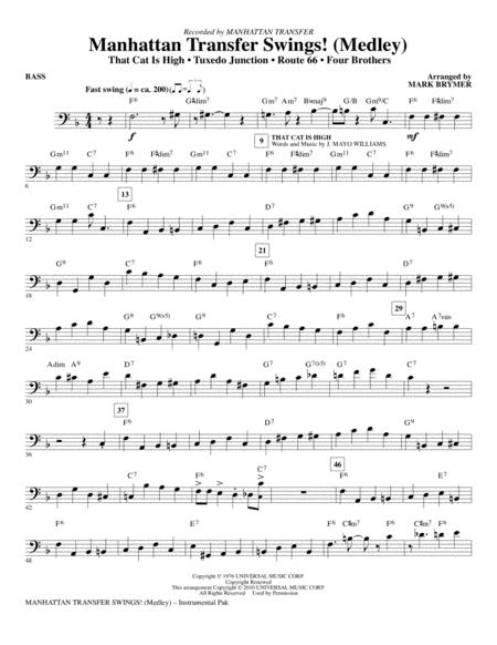 Manhattan Transfer Swings! (Medley) - Bass