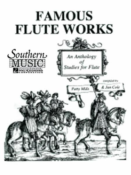 Famous Flute Works - An Anthology of Studies for Flute