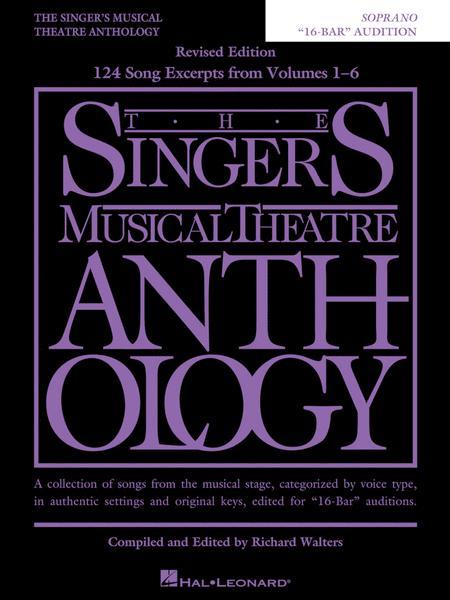 The Singer's Musical Theatre Anthology - 16-Bar Audition - Revised Edition