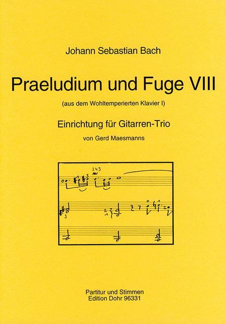 Praludium und Fuge VIII BWV 853
