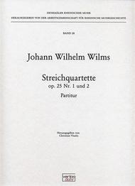 Streichquartette op. 25
