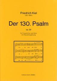 Der 130. Psalm op. 29