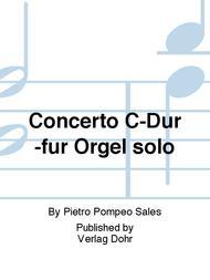 Concerto fur Orgel solo C-Dur