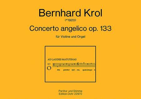 Concerto angelico fur Violine und Orgel op. 133 (1993)