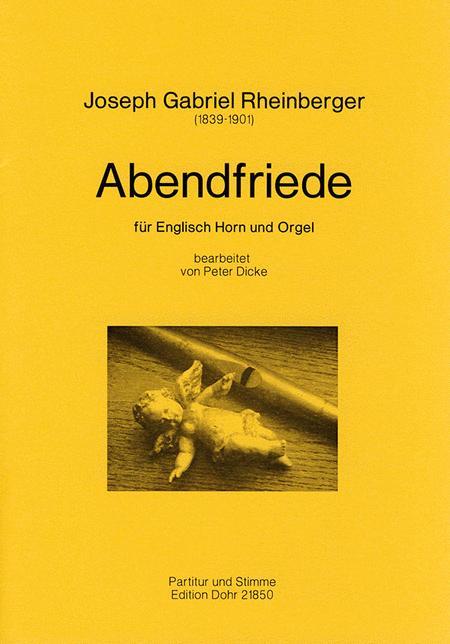 Abendfriede fur Englischhorn und Orgel op. 156, Nr. 10