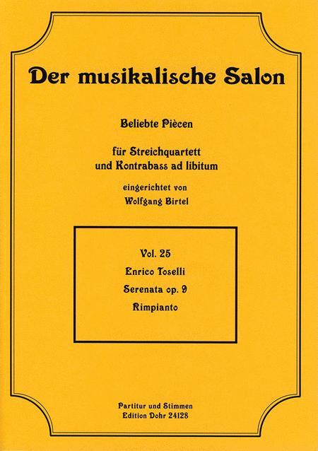 Serenata fur Streichquartett op. 9