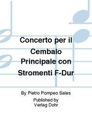Concerto per il Cembalo Principale con Stromenti F-Dur