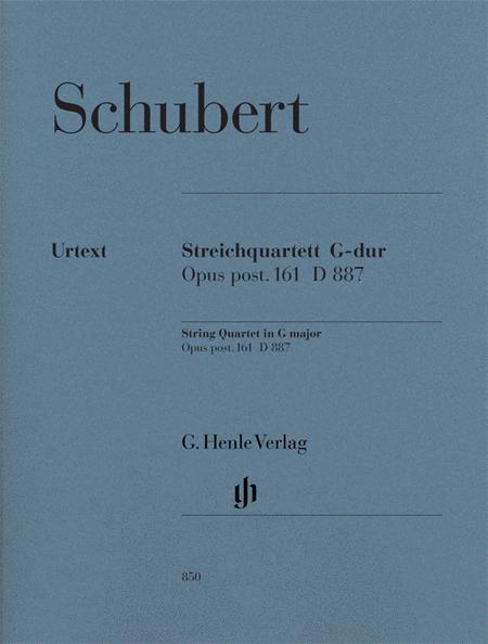 String Quartet in G Major, Op. post. 161 D 887