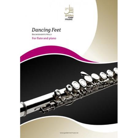 Dancing feet for flute