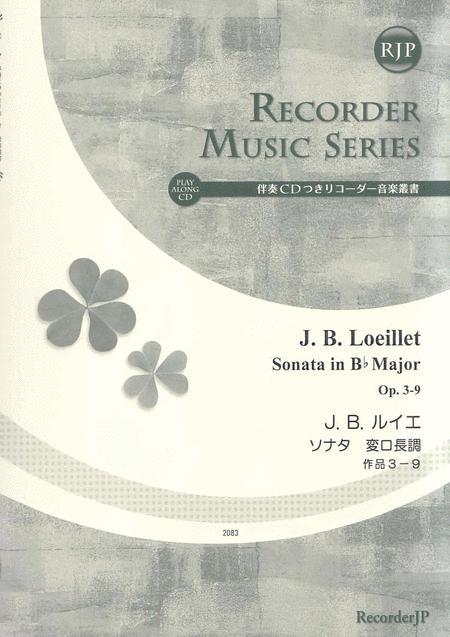 Sonata in B-flat Major, Op. 3-9