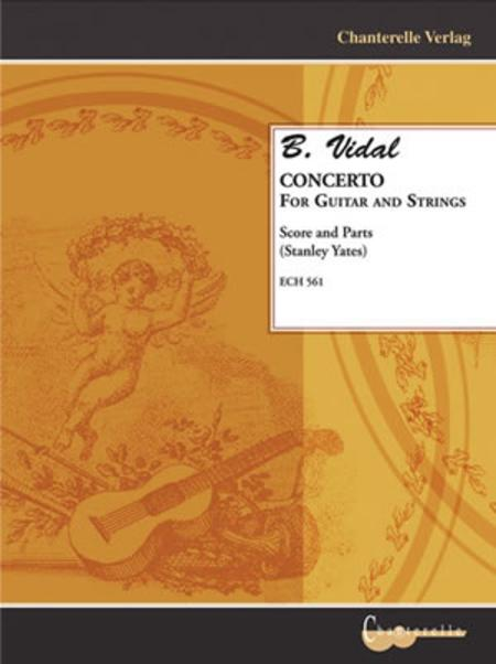 B. Vidal - Concerto for Guitar and Strings