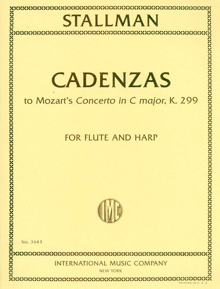 Cadenzas to Mozart's Concerto in C major, K. 299, for Flute and Harp