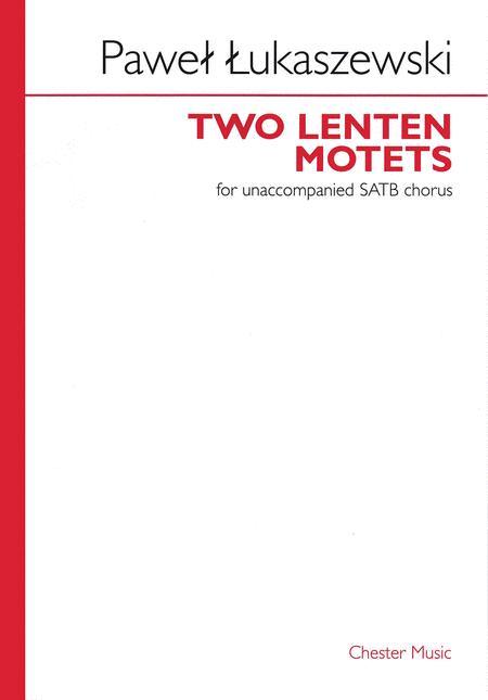 Two Lenten Motets