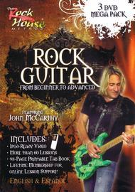 John McCarthy - Learn Rock Guitar Mega-Pack