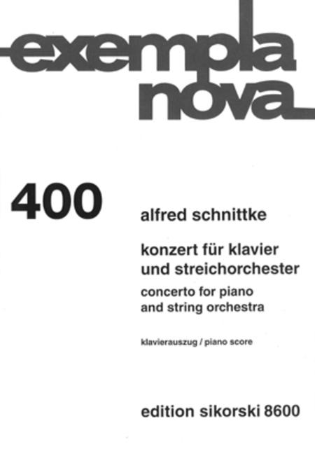 Concerto for Piano and String Orchestra