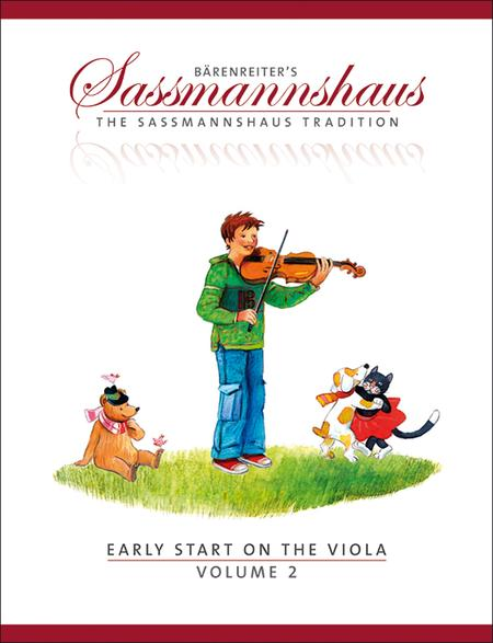 Early Start on the Viola, Volume 2