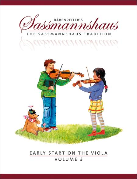 Early Start on the Viola, Volume 3