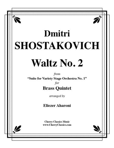 Waltz No. 2 from 'suite for Variety Stage Orchestra No. 1'