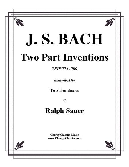 Two Part Inventions for two Trombones