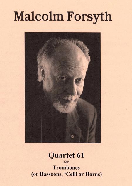 Quartet '61 for Trombone Quartet