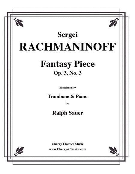 Fantasy Piece Op. 3 No. 3 for Trombone & Piano