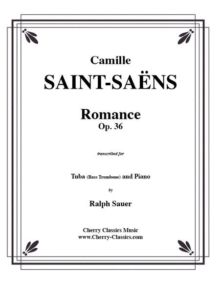 Romance, Opus 36 for Tuba or Bass Trombone & Piano