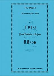 Trio, Op. 5