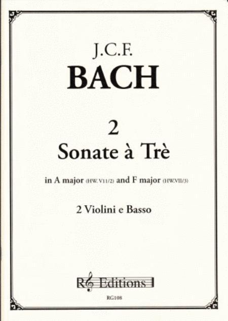 2 Sonate a Tre