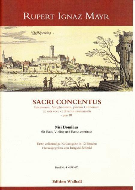 Nisi Dominus op. 3 - IV