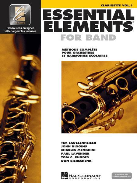 Essential Elements 2000 - Vol. 1 (B-Flat Clarinet) - French Edition