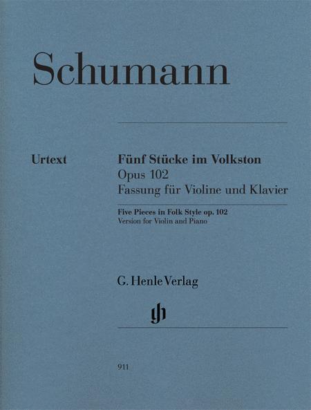 5 Pieces in Folk Style, Op. 102