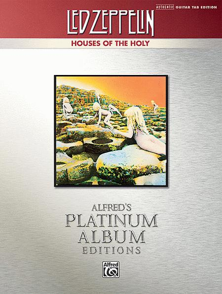 Led Zeppelin -- Houses of the Holy Platinum Guitar