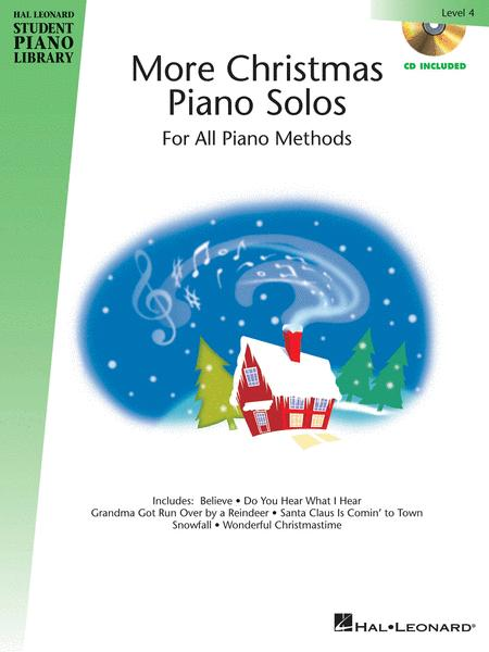 More Christmas Piano Solos - Level 4