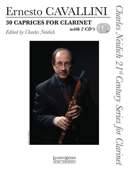 30 Caprices for Clarinet