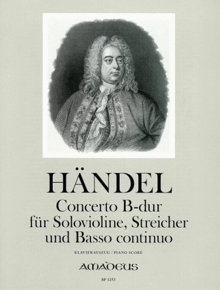 Concerto (Sonata a 5) Bb major HWV 288