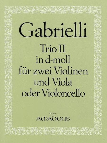 Trio No. 2 D minor